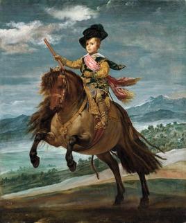 Carlos Balthasar sur son poney  - 1635 - Musée du Prado - Madrid
