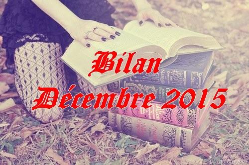 Bilan décembre 2015
