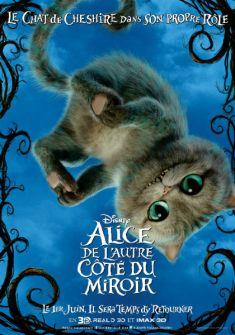 Alice de l'autre côté du miroir : les affiches personnages